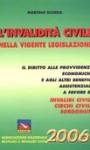 """""""L'invalidità civile nella vigente legislazione"""""""