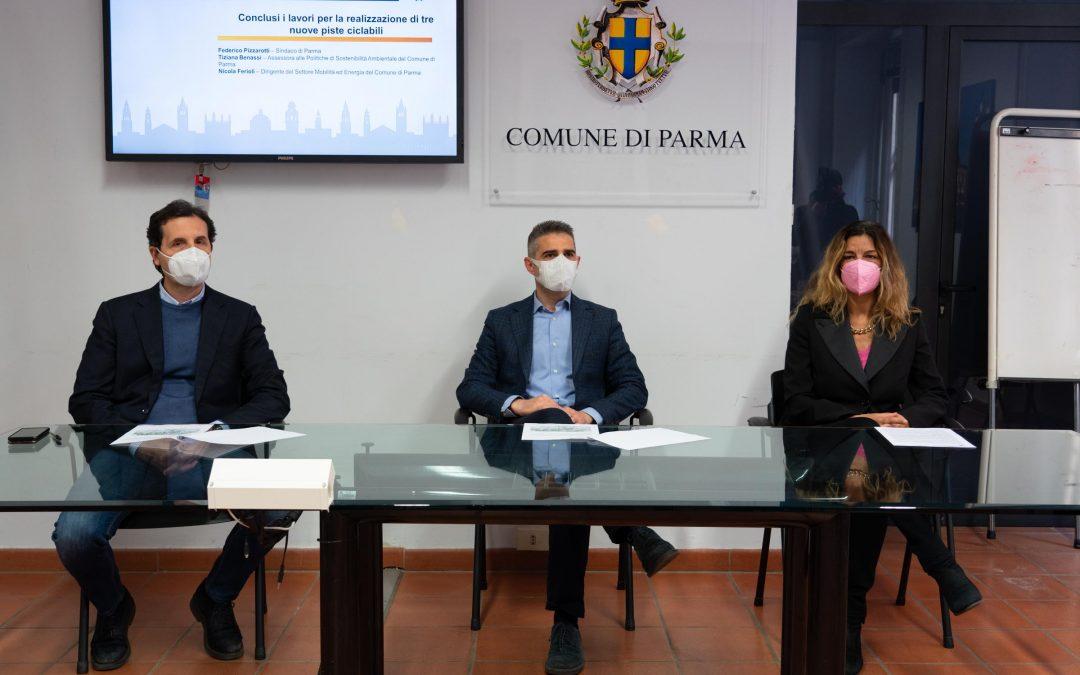 Nuove piste ciclabili a Parma: comode e sicure anche per disabili