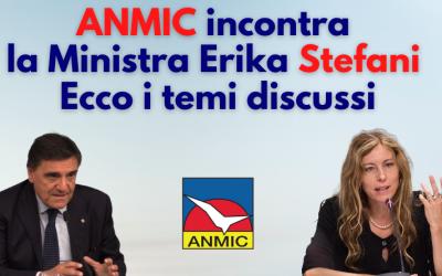 Anmic ha incontrato la Ministra Stefani: ecco le richieste