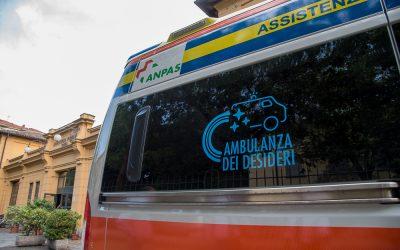 """""""L'Ambulanza dei Desideri"""" si è messa in moto"""