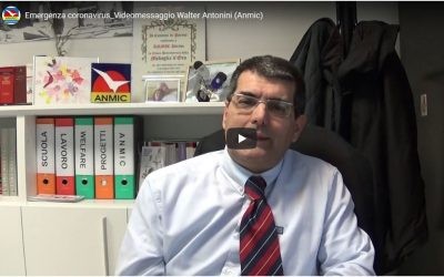 Emergenza Coronavirus: il videomessaggio del nostro presidente Antonini