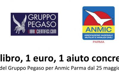 Libreria Gruppo Pegaso: l'incasso del banchetto esterno per Anmic