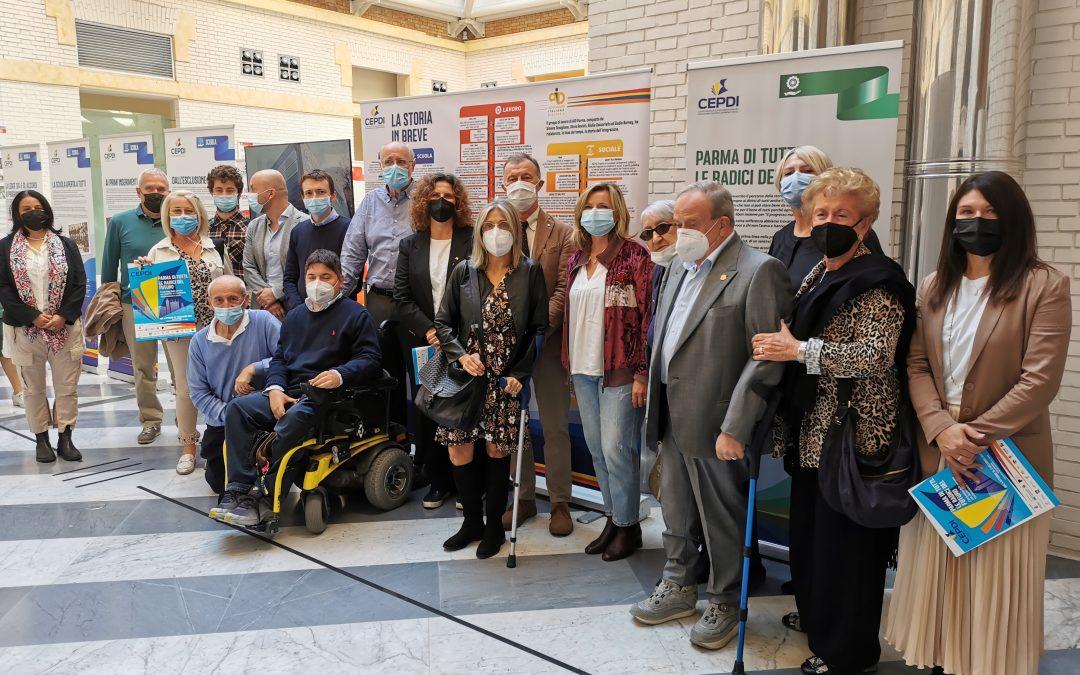 """""""Parma di tutti"""": fino al 3 dicembre la mostra sulla storia dell'inclusione delle persone disabili"""