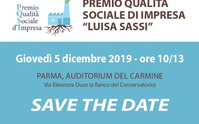 Premio Qualità Sociale d'Impresa: il 5 dicembre con Bonaccini