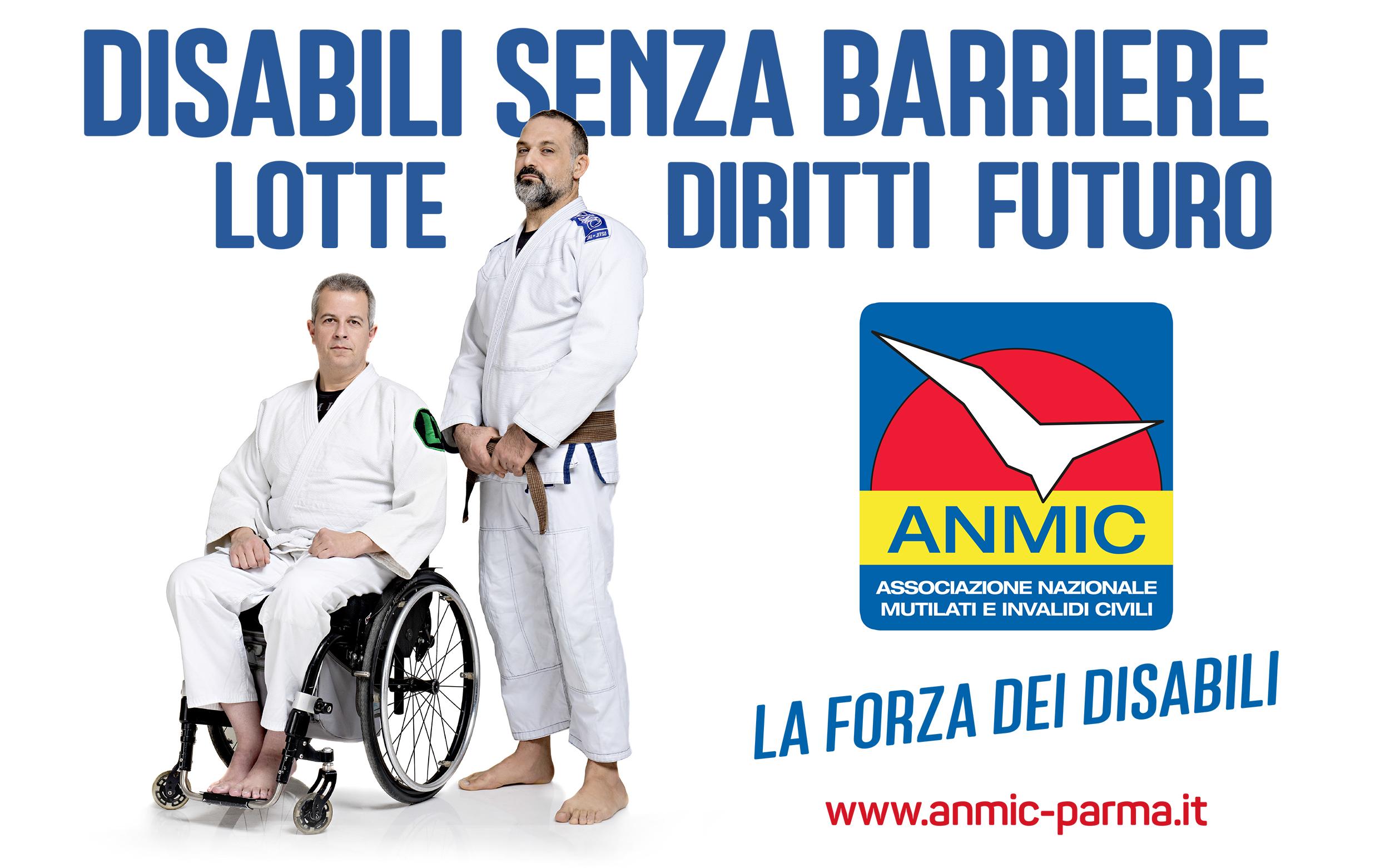"""""""Disabili senza barriere"""": la quarta stagione della trasmissione Anmic su Tv Parma"""