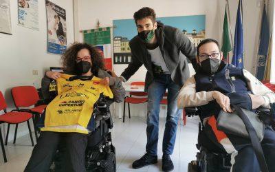 Il campione Luca Vettori in Anmic per una sorpresa speciale