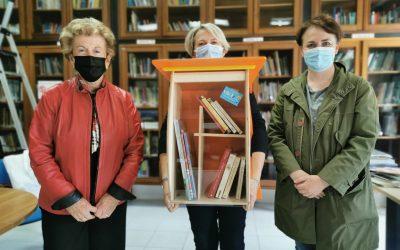 Anmic e Cepdi: più belle e in rete con la casetta dei libri di Scambiamente