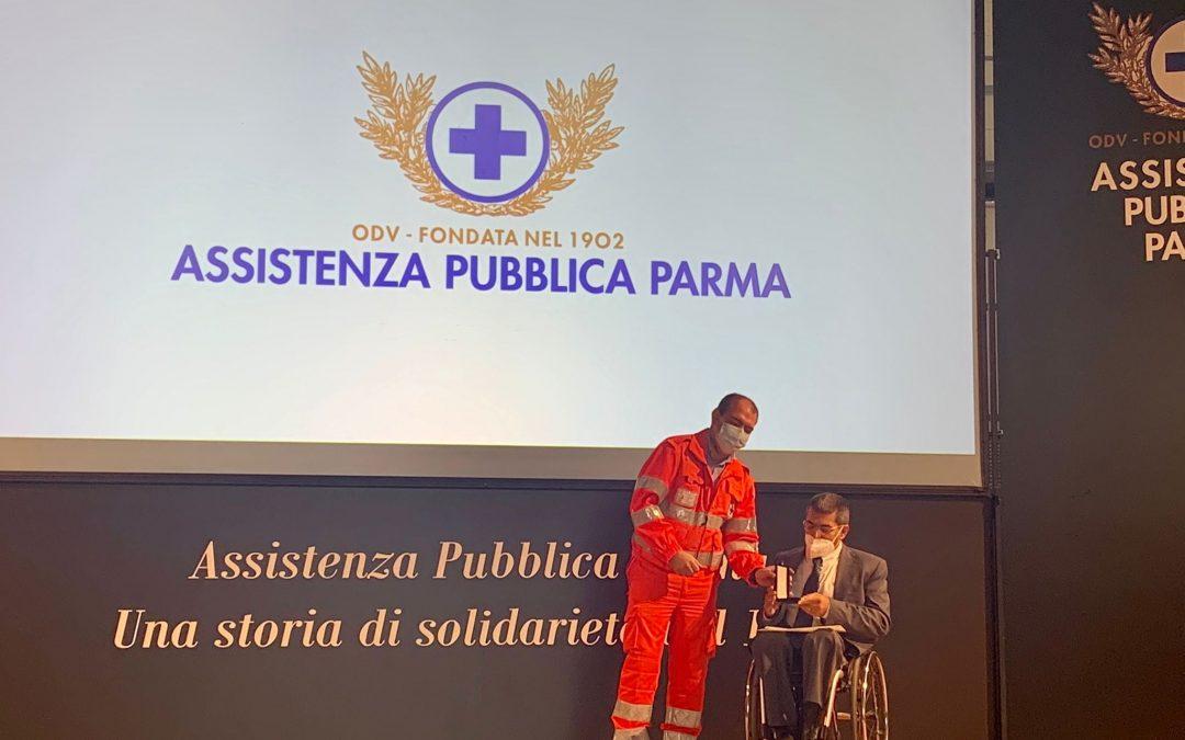 Solenne premiazione della Pubblica: medaglia d'oro anche ad Anmic Parma