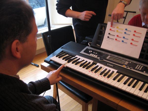 Musica accessibile con il progetto Figurenotes al Cepdi