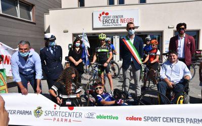 Veronica e il suo Obiettivo Tricolore: nel nome di Zanardi, con lo Sport Center